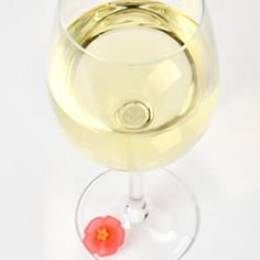 Charles Viancin - Floral Drink Markers, Set of 6