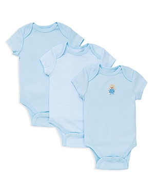 Little Me Boys Bear Bodysuit 3 Pack  Baby