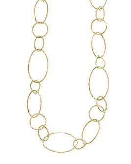 "LAGOS - 18K Gold Link Necklace, 24"""