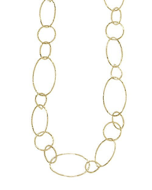LAGOS - 18K Gold Link Necklace, 24""