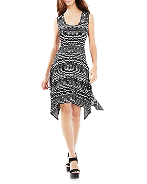 Bcbgmaxazria Ane Knit Jacquard Dress