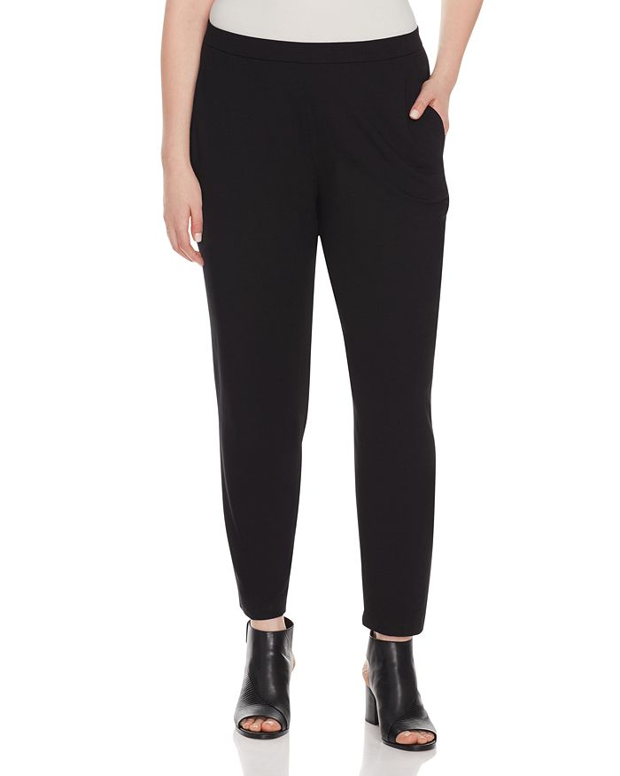 Eileen Fisher Plus - Slim Slouchy Ankle Pants