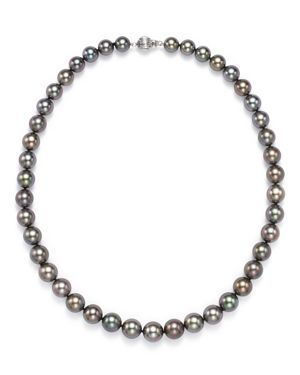 Tara Pearls Natural Color Tahitian Cultured Pearl Strand Necklace, 17