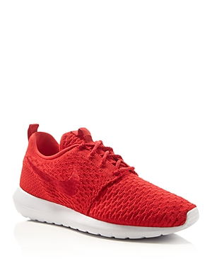 Nike Men's Roshe Nm Flyknit Lace Up Sneakers