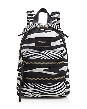 Marc Jacobs Zebra Print Biker Mini Backpack
