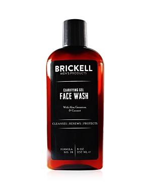 Brickell Clarifying Gel Face Wash 8 oz.