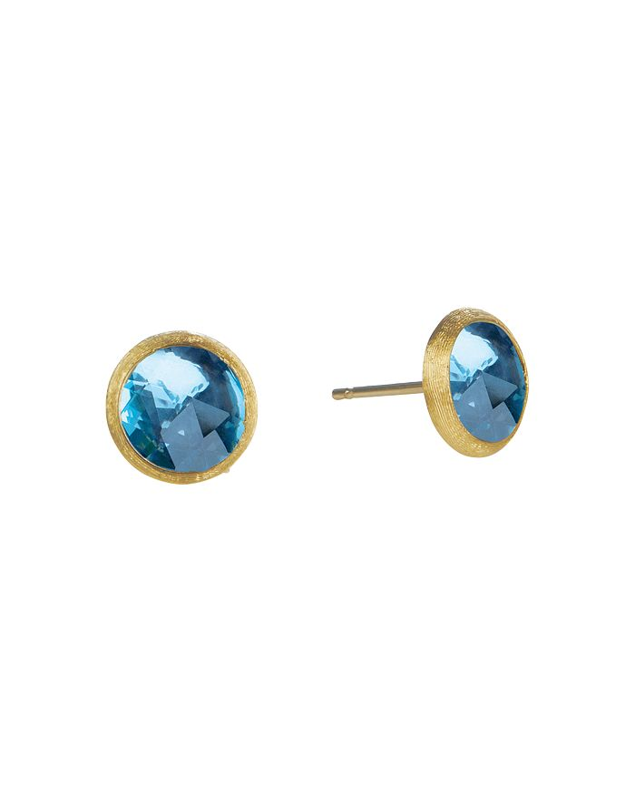 Marco Bicego - Jaipur Blue Topaz Stud Earrings