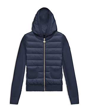 Moncler Girls Puffer  Knit Cardigan  Sizes 814