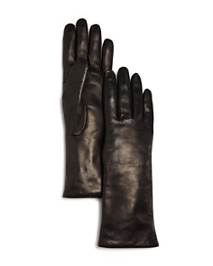 Bloomingdale's Cashmere Lined Leather Gloves - 100% Exclusive_0