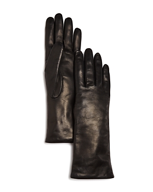 Bloomingdale's Cashmere Lined Leather Gloves - 100% Exclusive