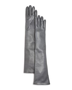 Bloomingdale's - Long Leather Gloves - 100% Exclusive