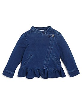 Splendid - Girls' Denim-Look Knit Jacket - Baby
