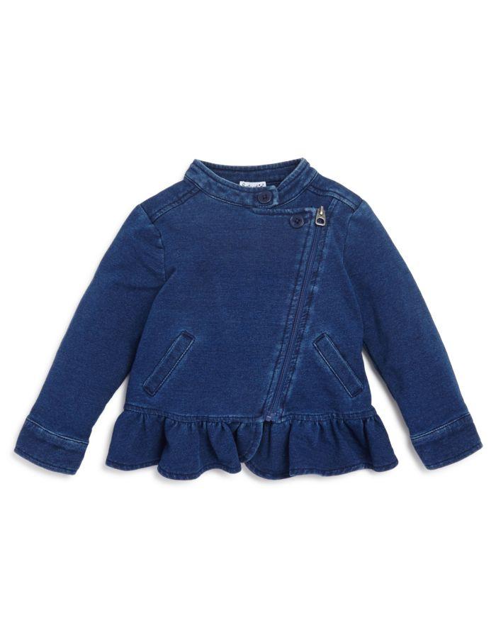 Splendid Girls' Denim-Look Knit Jacket - Baby   | Bloomingdale's