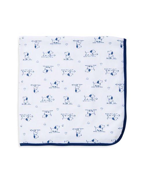 Little Me - Infant Boys' Puppy Print Receiving Blanket