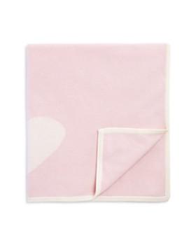 Bloomie's - Infant Girls' Cashmere Heart Intarsia Blanket - 100% Exclusive