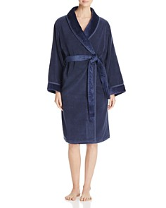 Hudson Park Velour Robe - 100% Exclusive - Bloomingdale's_0