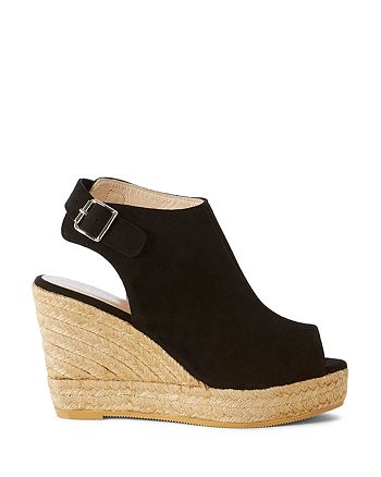 26aa3c8b7e7 KAREN MILLEN Suede Espadrille Wedge Sandals | Bloomingdale's