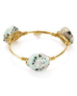 Bourbon & Boweties Kiwi Jasper Bangle