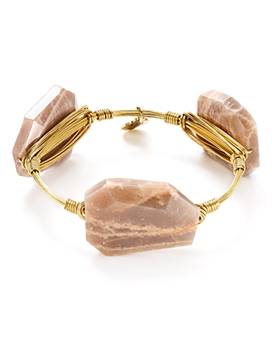 Bourbon & Boweties Moonstone Bangle