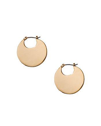 Ralph Lauren - Disc Hoop Earrings
