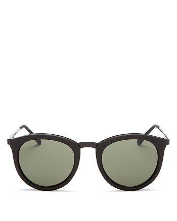 4318ce67415 Le Specs - Women s No Smirking Round Sunglasses