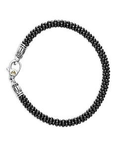 LAGOS Black Caviar Ceramic Sterling Silver and 18K Gold Bracelets - Bloomingdale's_0