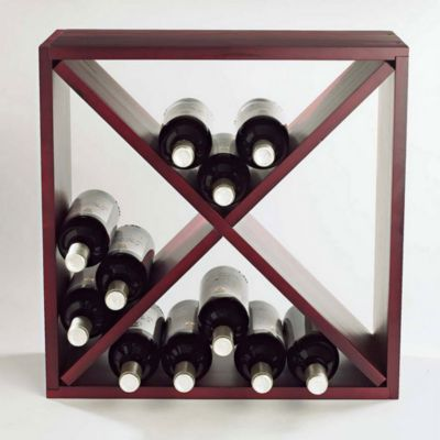$Wine Enthusiast 24 Bottle Cube - Bloomingdale's