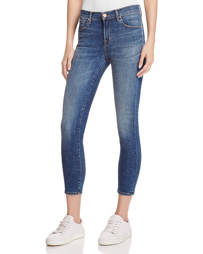 J Brand - 835 Cropped Skinny Jeans in Sublime