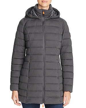 Save The Duck Packable Long Puffer Coat