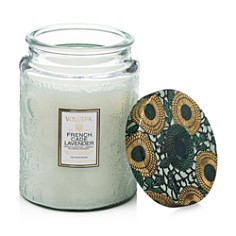 Voluspa Japonica French Cade & Lavender Large Glass Candle - Bloomingdale's_0