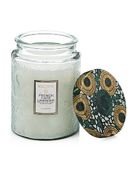 Voluspa - Japonica French Cade & Lavender Large Glass Candle