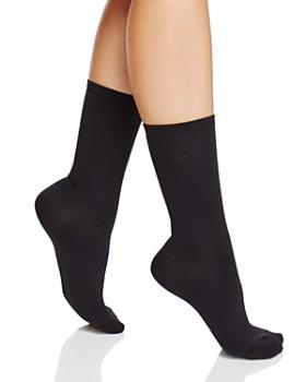 Ralph Lauren - Microfiber Flat Knit Trouser Socks