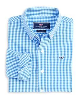 Vineyard Vines - Boys' Gingham Button-Down Shirt - Little Kid, Big Kid