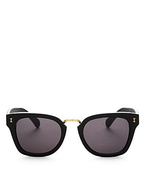 Illesteva Positano Mirrored Square Sunglasses, 49mm