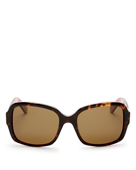 kate spade new york - Women's Annora Polarized Rectangle Sunglasses, 54mm
