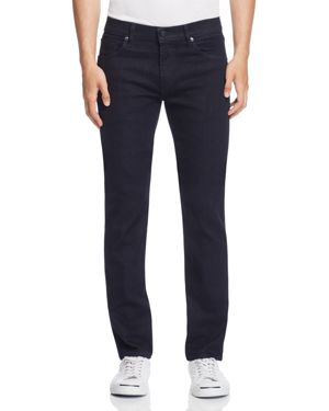 J Brand Kane Straight Fit Jeans in Dark Blue