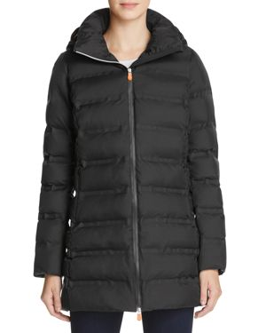 Save The Duck Long Packable Coat