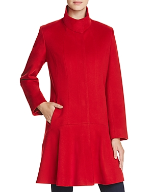 Sofia Cashmere Princess Seam Wool & Cashmere Coat
