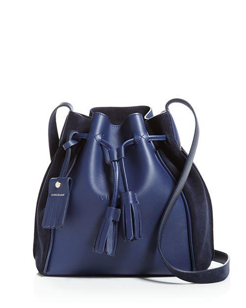 Longchamp - Penelope Leather Bucket Bag
