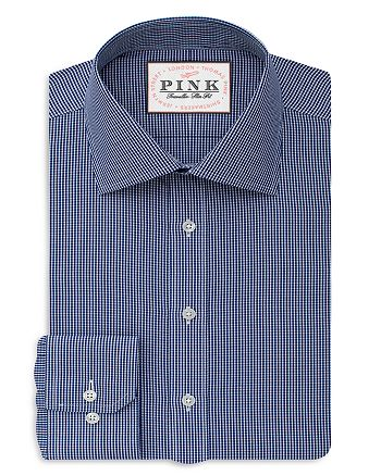 Thomas Pink - Ferguson Check Dress Shirt - Bloomingdale's Regular Fit