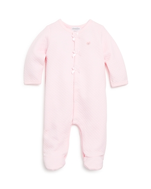 Absorba Infant Girls' Diamond Quilted Footie - Sizes 0-9 Months
