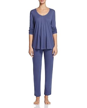 Hanro Alessia Long Sleeve Pajama Set