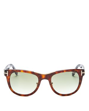 Tom Ford Jack Combo Square Sunglasses, 50mm