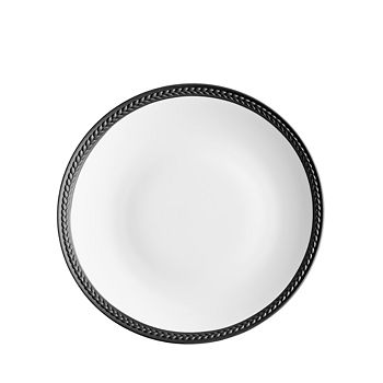 L'Objet - Soie Tressee Black Bread and Butter Plate