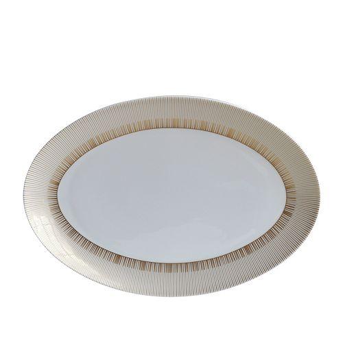 """Bernardaud - Sol Oval Platter, 13"""""""