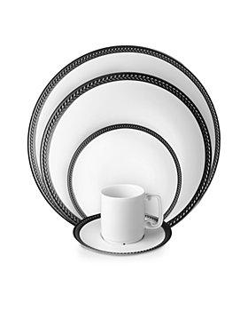 L'Objet - Soie Tressee Black Dinnerware Collection