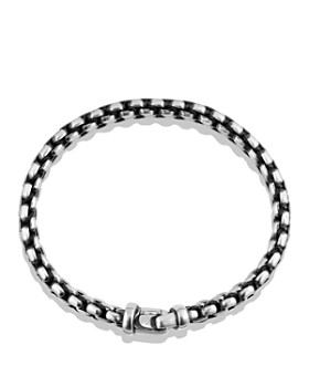 David Yurman - Woven Box Chain Bracelet in Black