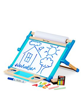 Melissa & Doug - Double Sided Tabletop Easel - Ages 3+