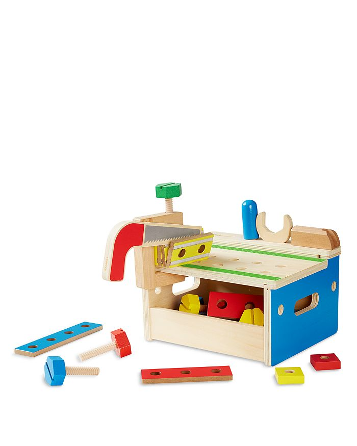 Melissa & Doug - Hammer & Saw Tool Bench - Ages 3+