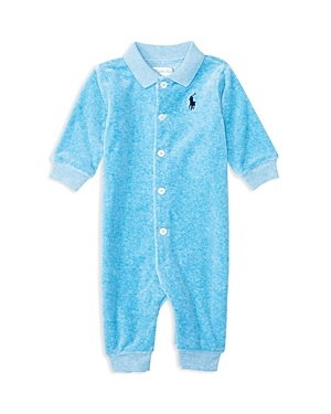 Ralph Lauren Childrenswear Infant Boys Velour Coverall  Sizes 39 Months